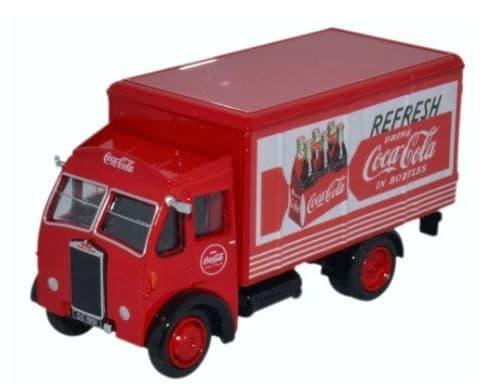 Oxford 1/76 Coca-Cola Albion Victor Box Van # 76ALB001CC