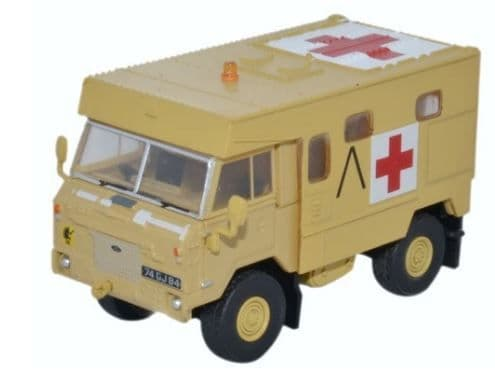 Oxford 1/76 Land Rover 101 FC Ambulance Gulf War 1991 # 76LRFCA001
