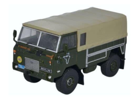 Oxford 1/76 Land Rover Forward Control GS Trans - Sahara Expedition 1975 # 76LRFCG001
