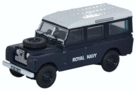 Oxford 1:76 Land Rover Series II Station Wagon Royal Navy # 76LAN2015