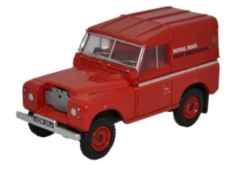 Oxford 1/76 Land Rover Series IIA SWB Hard Top Royal Mail (PO Recovery) # 76LR2AS001
