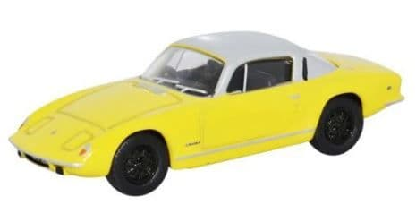 Oxford 1/76 Lotus Elan Plus2 Yellow/Silver # 76LE001
