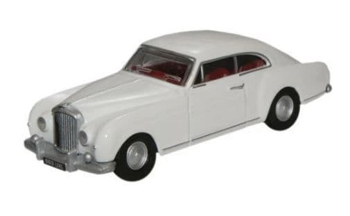 Oxford 1:76 Olympic White Bentley S1 Continental Fastback # 76BCF003