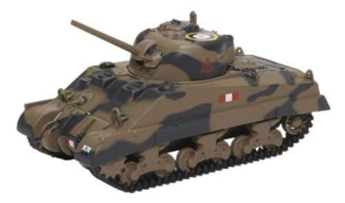 Oxford 1/76 Sherman Tank Mk.III Royal Scots Greys Italy 1943 # 76SM002