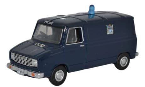Oxford 1/76 Sherpa Van Metropolitan Police # 76SHP003
