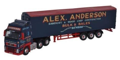 Oxford 1/76 Volvo FH Walking Floor Alex Anderson # VOL01WF