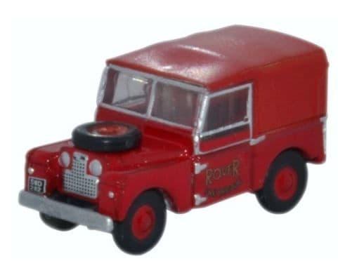 Oxford N: Gauge Land Rover Series 1 Rover Fire Brigade # NLAN188010