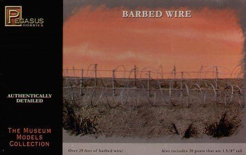 Pegasus Hobbies 28mm Barbed Wire # 6520