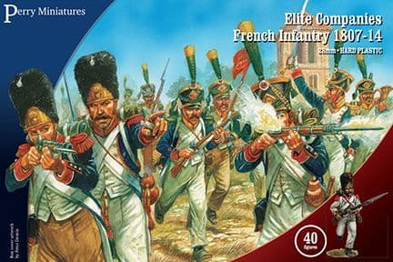 Perry Miniatures 28mm Elite Companies French Infantry 1807-14 # FN260
