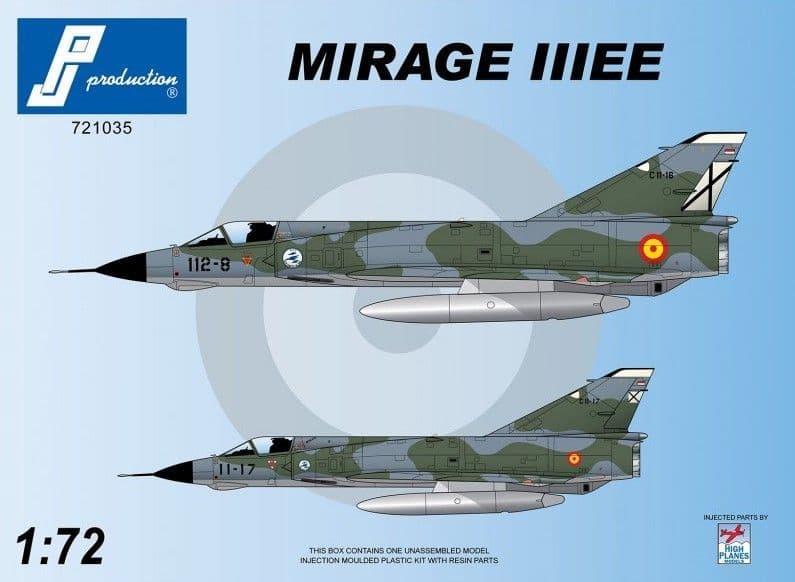 PJ Productions 1/72 Dassault Mirage IIIEE # 721035
