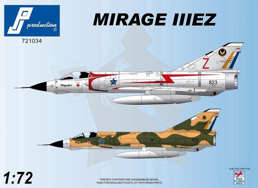 PJ Productions 1/72 Dassault Mirage IIIEZ # 721034