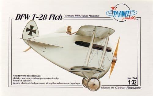 Planet 1/32 DFW T-28 Floh 'German WWI Fighter Prototype' # 24432