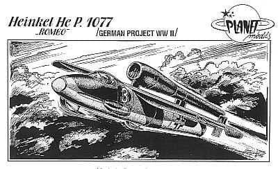 Planet 1/48 Heinkel He P.1077 Romeo # 011