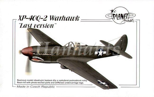 Planet 1/48 XP-40Q-2 Warhawk Last Version # 10448