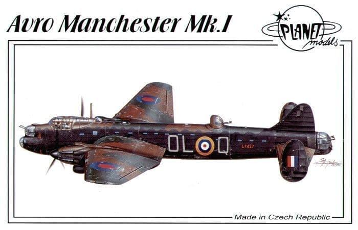 Planet 1/72 Avro Manchester Mk. I # 12772