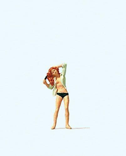 Preiser HO Scale 'Doing Her Hair' Figure # 28089