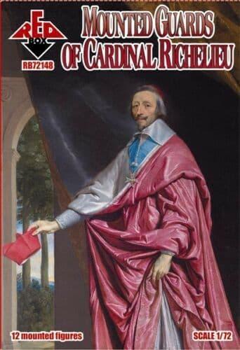 Red Box 1/72 Mounted Guards of Cardinal Richelieu XVIIc # 72148