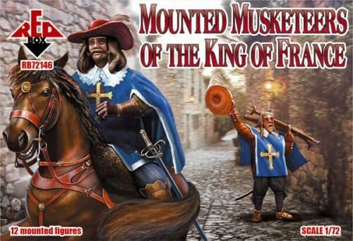 Red Box 1/72 Mounted Musketeers of the King of France # 72146