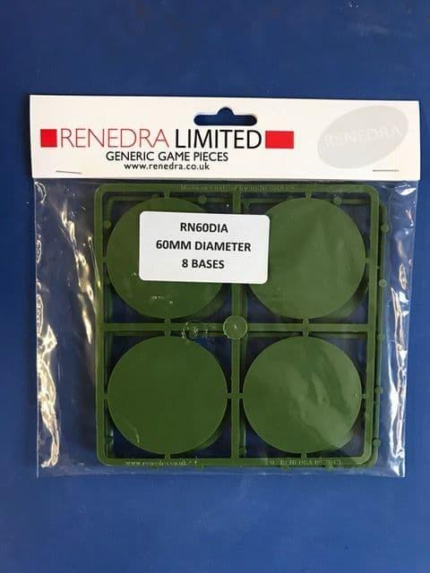 Renedra 60mm Diameter 8 Bases # RN60DIA