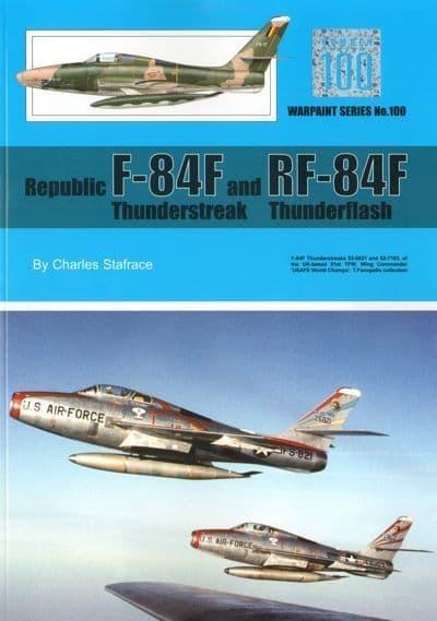 Republic F-84F Thunderstreak and RF-84F Thunderflash - by Charles Stafrace