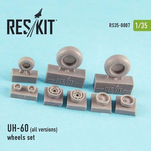 ResKit 1/35 Sikorsky UH-60 (All Versions) Wheels Set # 35-0007