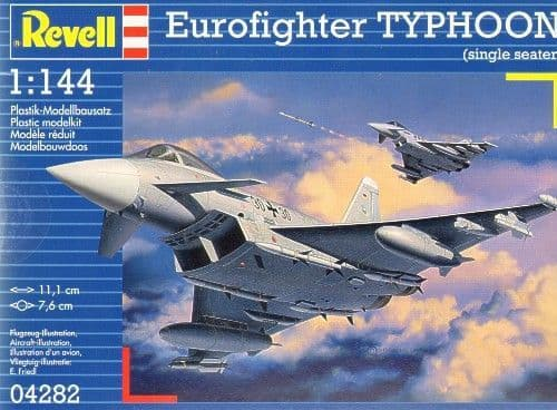 Revell 1/144 Eurofighter Typhoon (Single Seater) #  04282