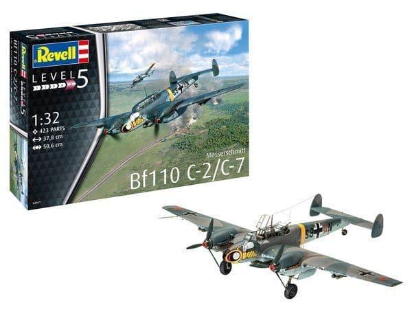 Revell 1/32 Messerschmitt Bf-110 C-2/C-7 # 04961