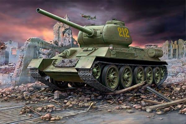 Revell 1/72 Russian T-34/85 # 03302