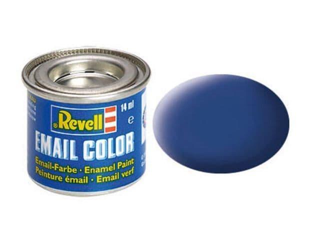 Revell 14ml Blue mattt enamel paint # 56