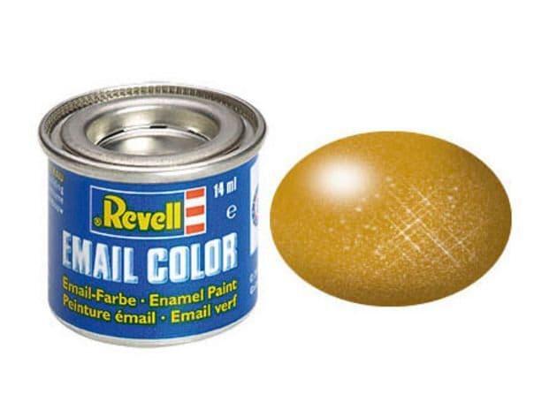 Revell 14ml Brass Metallic enamel paint # 92