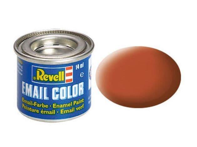 Revell 14ml Brown mattt enamel paint # 85