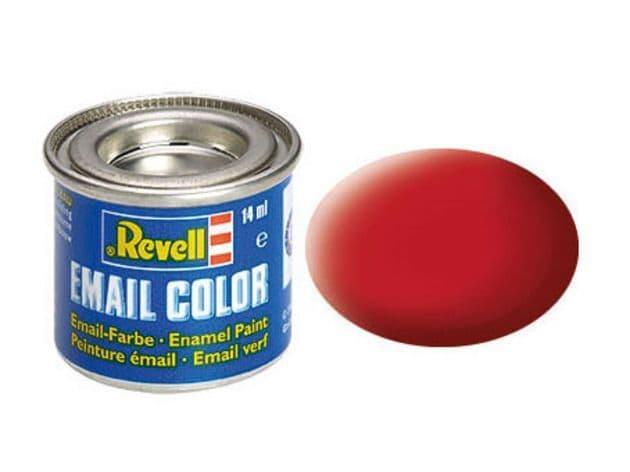 Revell 14ml Carmine Red mattt enamel paint # 36