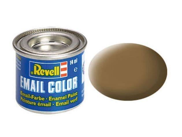 Revell 14ml Dark-Earth mattt enamel paint # 82