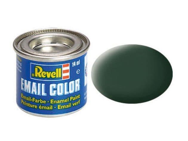 Revell 14ml Dark Green mattt enamel paint # 68