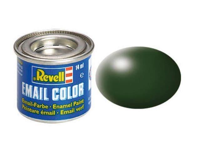 Revell 14ml Dark Green Silk enamel paint # 363