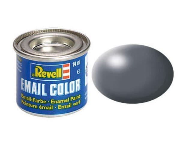 Revell 14ml Dark Grey Silk enamel paint # 378