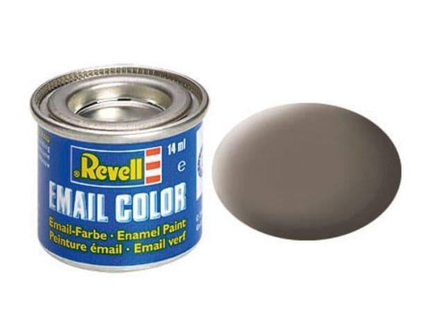 Revell 14ml Earth Brown mattt enamel paint # 87