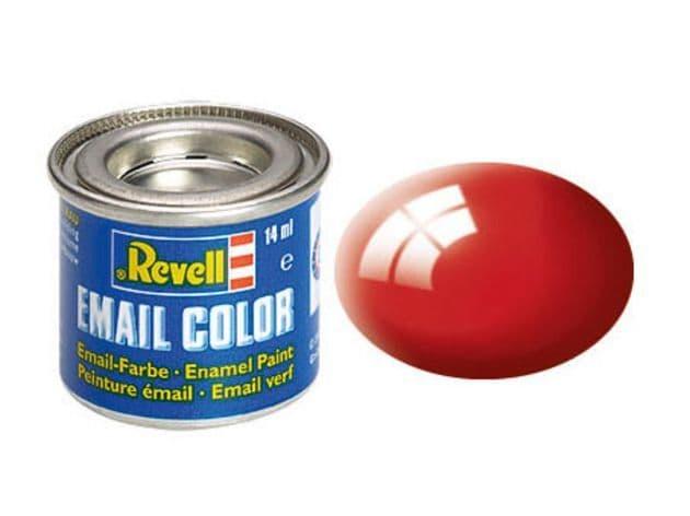 Revell 14ml Fiery Red Gloss enamel paint # 31