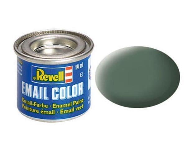 Revell 14ml Greenish Grey mattt enamel paint # 67