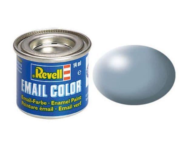 Revell 14ml Grey Silk enamel paint # 374