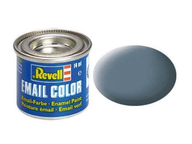 Revell 14ml Greyish Blue mattt enamel paint # 79