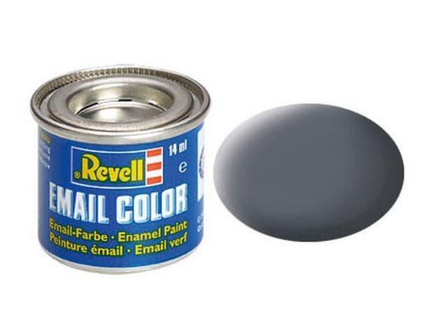 Revell 14ml Gunship-Gray mattt enamel paint # 74