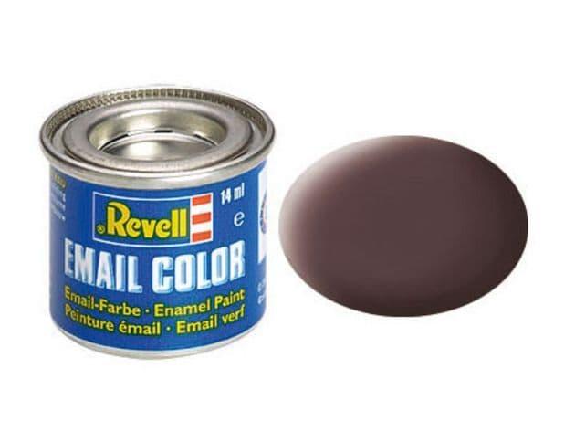 Revell 14ml Leather Brown mattt enamel paint # 84