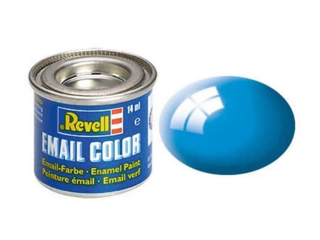 Revell 14ml Light Blue Gloss enamel paint # 50