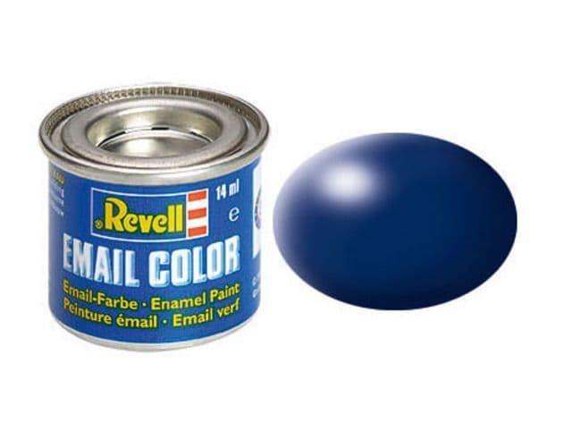Revell 14ml Lufthansa-Blue Silk enamel paint # 350
