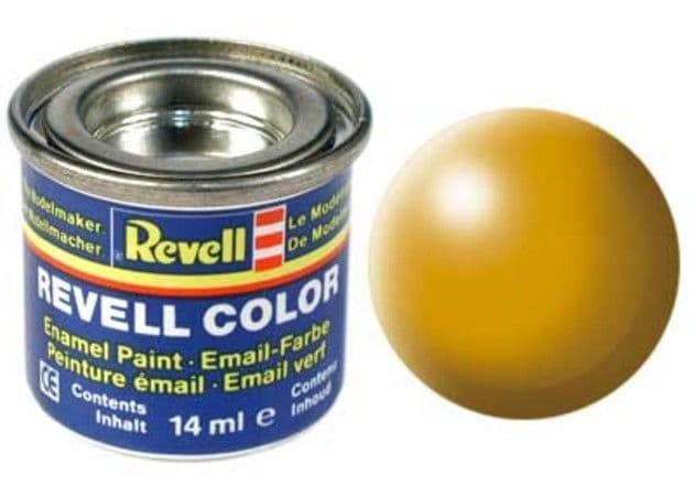 Revell 14ml Lufthansa-Yellow Silk enamel paint # 310