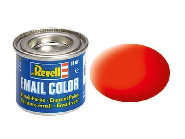 Revell 14ml Luminous orange mattt enamel paint # 25