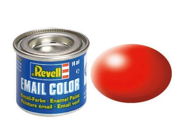 Revell 14ml Luminous Red Silk enamel paint # 332