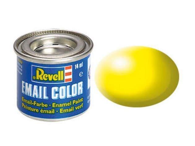 Revell 14ml Luminous Yellow Silk enamel paint # 312