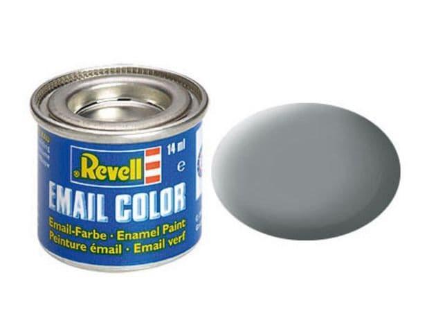 Revell 14ml Middle Grey mattt enamel paint # 43